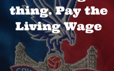 Croydon expects our premier league club to pay a REAL Living Wage